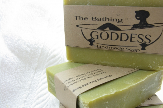 Olive and Avocado Soap Green Tea Bergamot Blended Soap for Mature Skin
