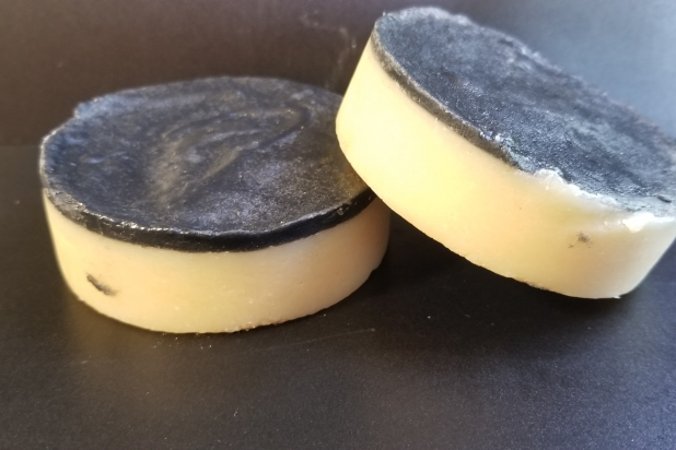 Tea Tree and Peppermint Face Soap with Activated Charcoal