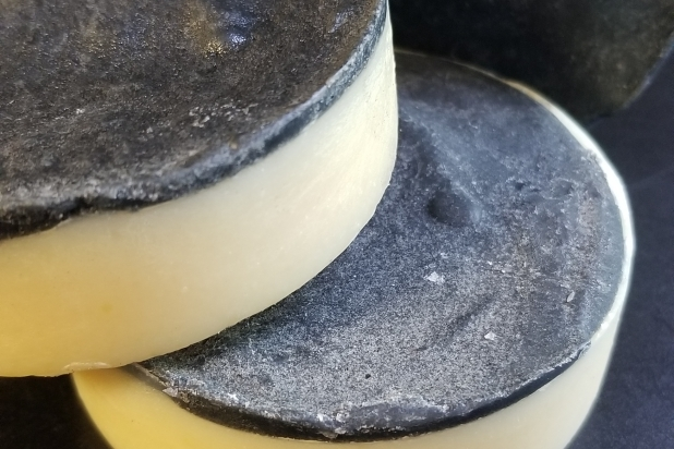 Tea Tree Peppermint Charcoal Face Bar by The Bathing Goddess