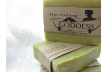 Olive and Avocado Soap Green Tea Bergamot Blended Soap for Mature Skin